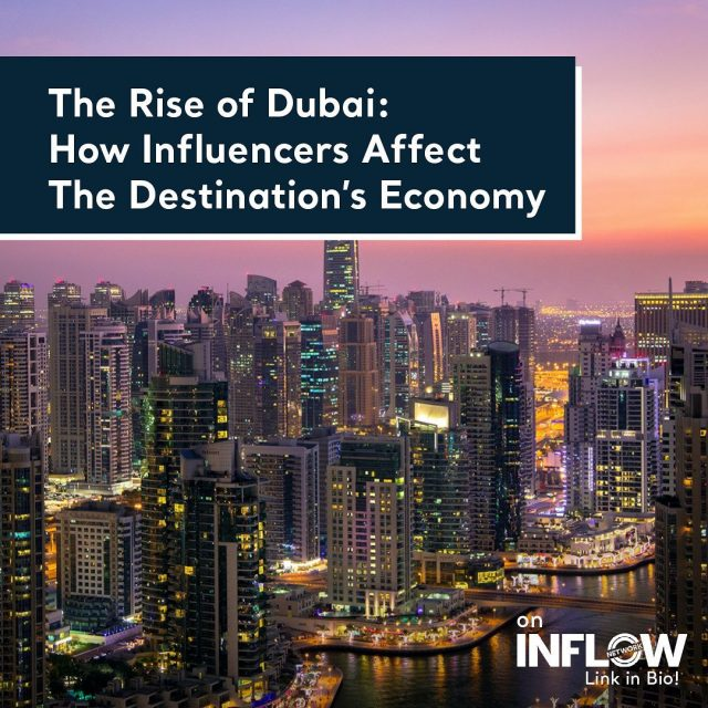 The global business hub Dubai has become the popular holiday destination for many influencers around the world. But how has a city on the edge of the desert become this popular, and how is it related to influencer marketing? Visit the link in our bio to find out! #INFLOWNetwork