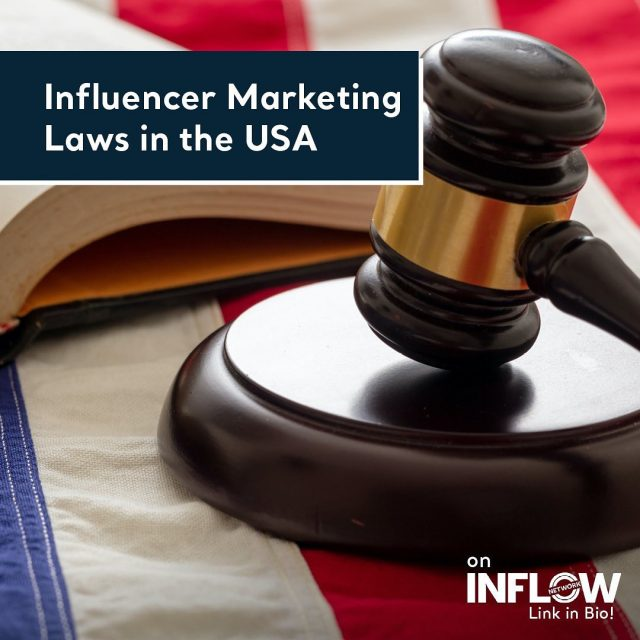 The rise of influencer marketing comes along with some requirements for transparent relationships between brands, influencers, and consumers. The Federal Trade Commission gets involved in the business to make it clear for consumers about which endorsement is real, and which is fake.Visit the link in our bio to learn all about the influencer marketing laws in the US. #INFLOWNetwork #influencermarketing