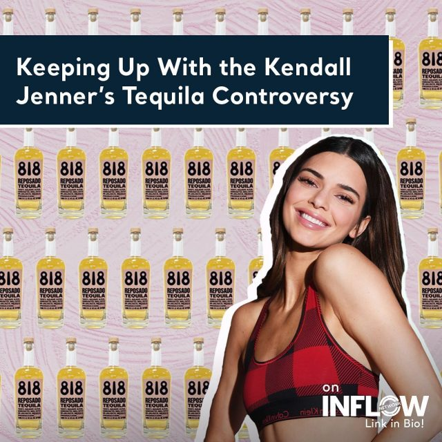 Almost two weeks ago, supermodel Kendall Jenner launched her Tequila brand 818. The tequila is named after the area code for San Fernando Valley where Kendall grew up. But why did the launch cause so much controversy? Hit the link in our bio for all the details.  #INFLOWNetwork #KendalJenner #818Tequila